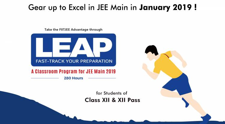LEAP- Opportunity to Fast-Track your Preparation for JEE 2019!