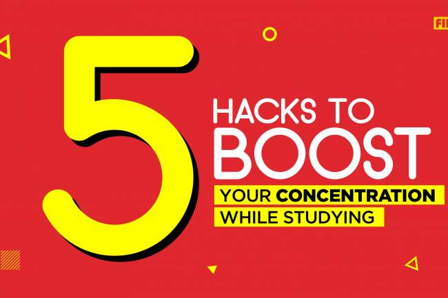 5 Hacks to Boost Your Concentration While Studying
