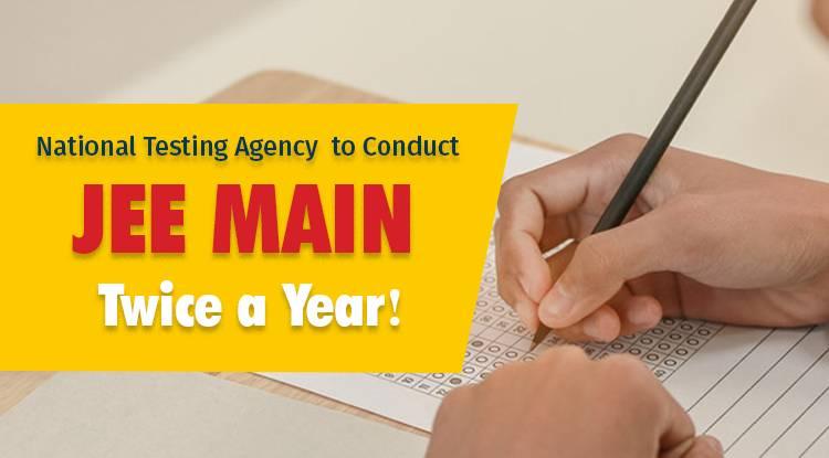 National Testing Agency to Conduct JEE, NEET, NET-UG Twice a Year!
